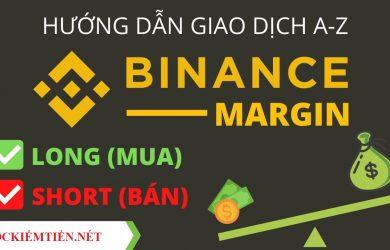 Cách giao dịch Margin trên Binance 2021